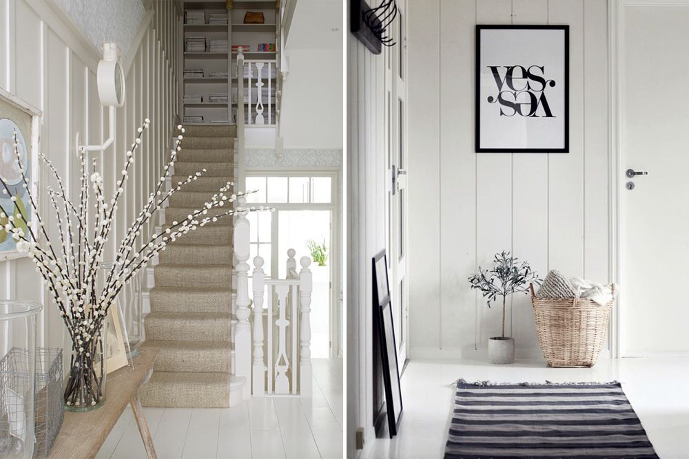 Hallway, Entryway And Foyer Storage Solutions And Decoration