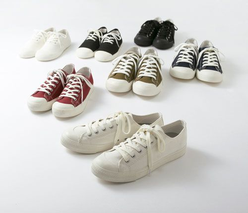 cb01a2054ef5 Canvas Sneakers  MUJI Flats