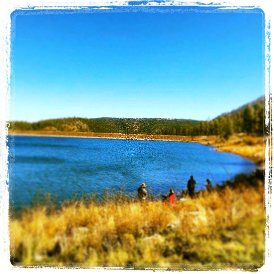 Fishing At Rainbow Lake Ruidoso New Mexico Travelers