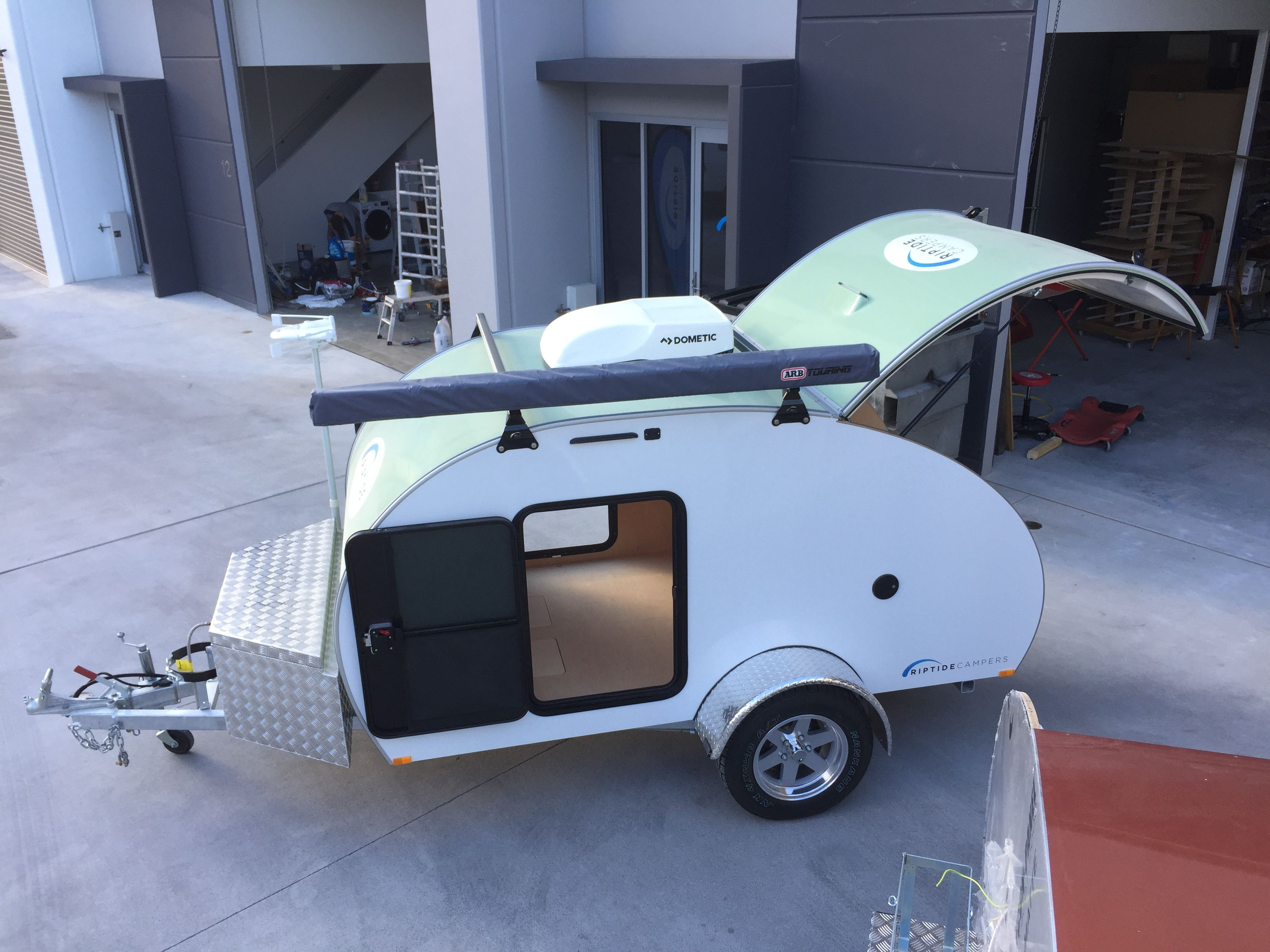 "The Riptide Campers ""Breeze"" camper! With air conditioner"
