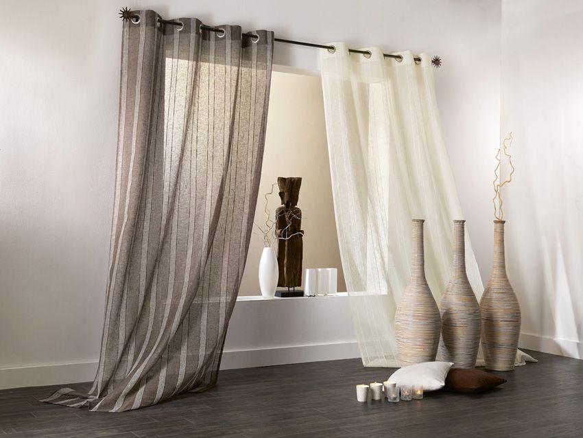 id es d co conseil en d coration d 39 int rieur pour votre projet de rideau voilage store. Black Bedroom Furniture Sets. Home Design Ideas