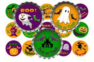 Free Stuff: Cute Halloween Mix bottle cap images (emailed) - Listia.com Auctions for Free Stuff