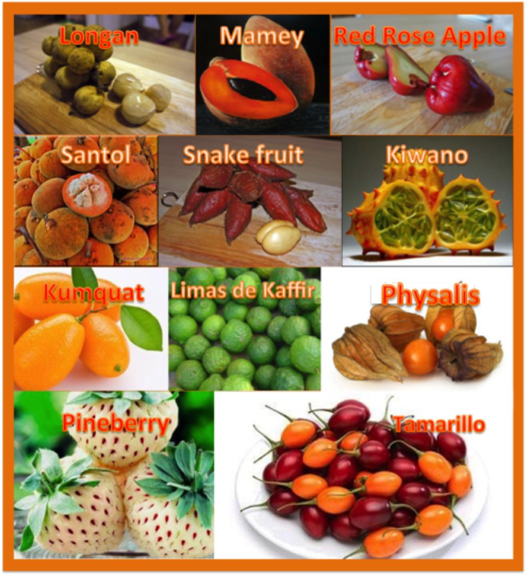 Frutas raras y ex ticas fashionfruit frutas ex ticas pinterest ex tico frutas ex ticas y - Frutas tropicales y exoticas ...