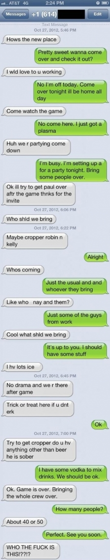 Photo - 35 HILARIOUS AND CREEPY TEXT MESSAGE REPONSES