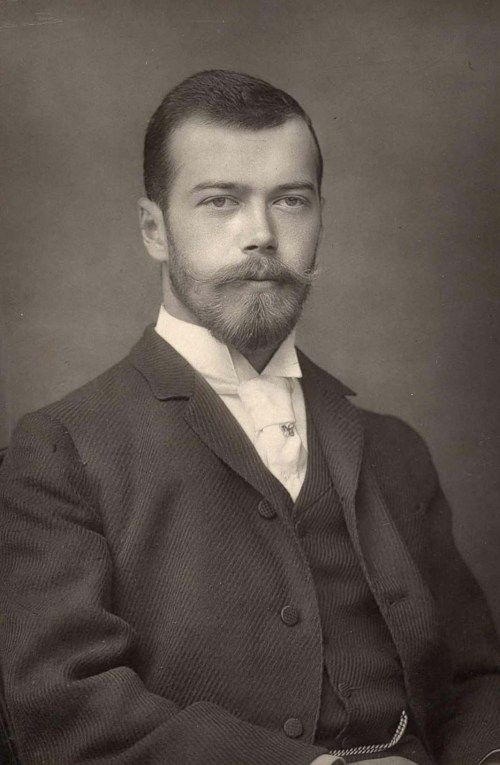 Nicholas II of Russia (1868-1918), before he ascended the throne in 1894.