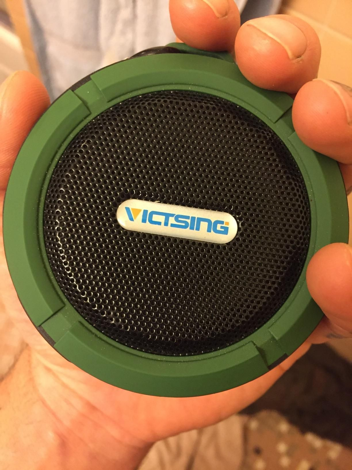 Built In Mic Bluetooth Speaker And Hands Free Function So You Can Pick Up A Phone Call Via This Mini Speaker Shower Bluetooth Speaker Shower Speaker Bluetooth