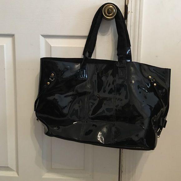 Black Vinyl Bag Large Black Vinyl Tote Very Roomy Inside Bags Totes Vinyl Bag Black Vinyl Bags
