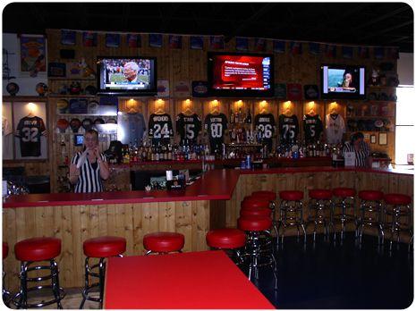 Sports bar decor & Sports bar decor | For the Home | Pinterest | Sports bar decor ...