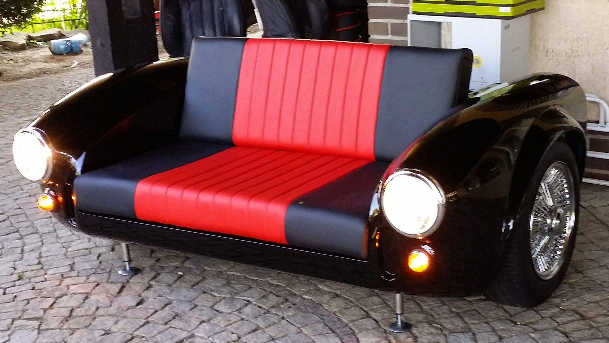 cars sofa chair how to protect leather shelby ac cobra car furniture