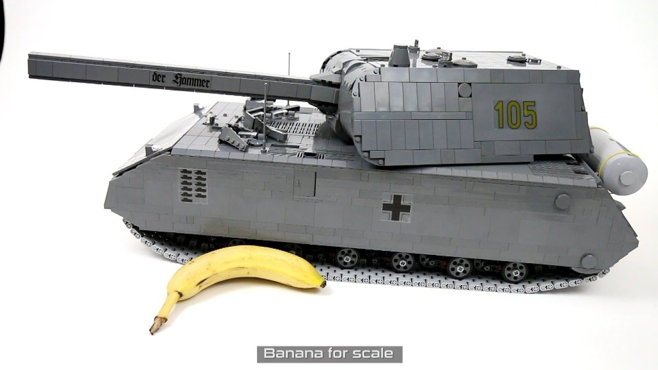 Lego Technic RC Maus Super-heavy Tank | LEGO® Military