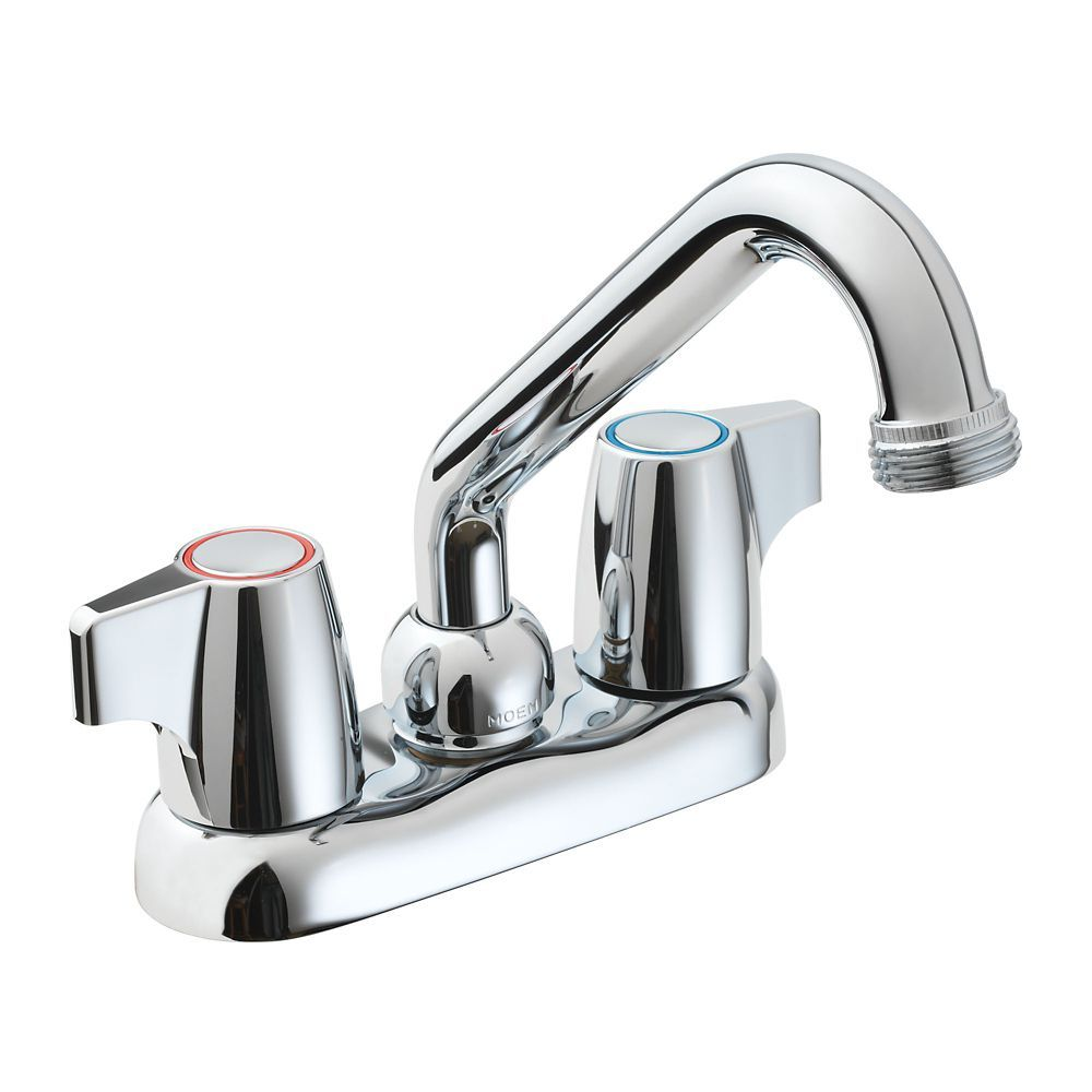 Manor 2 Handle Laundry Faucet In Chrome Faucet Chrome Chrome