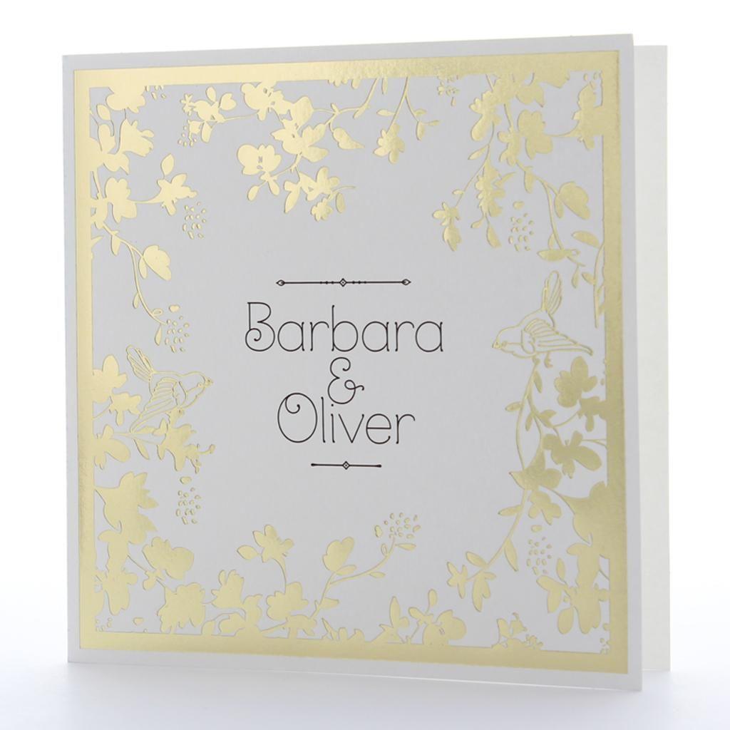 Einladungskarten Goldene Hochzeit Selbst Gestalten