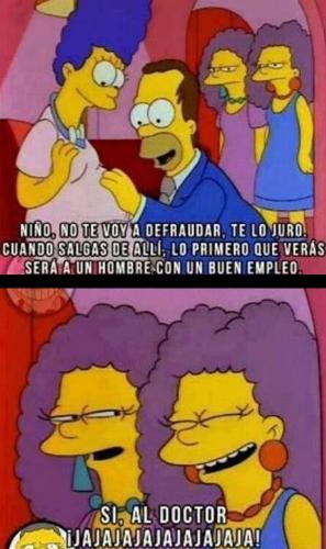 Lo Primero Q Veras Sera A Un Hombre Con Un Buen Empleo Medical Memes Simpsons Quotes Simpsons Meme