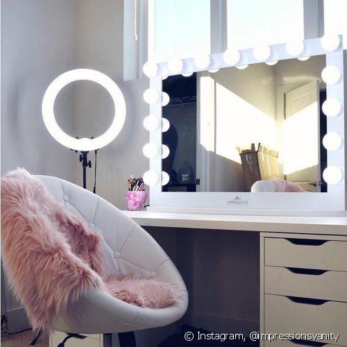 Espelho para maquiagem com luz: veja como escolher...