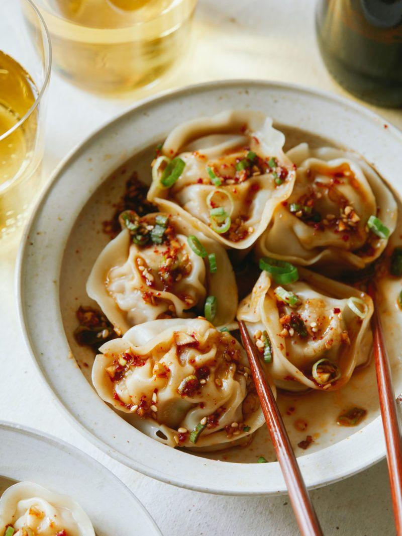 Pork And Shrimp Dumplings レシピ 美食 と 餃子