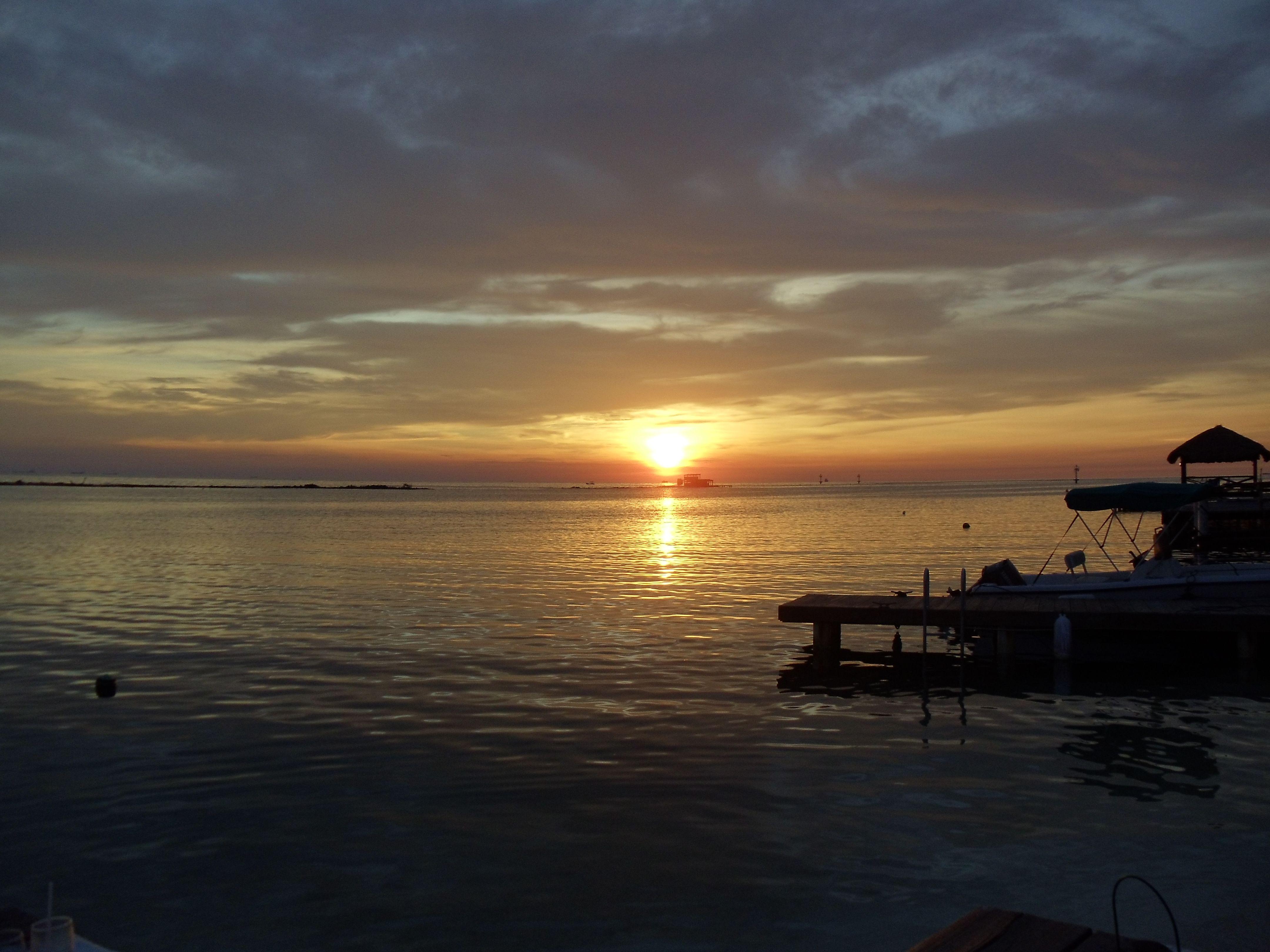 Sunset at Flying Fishbones - Aruba