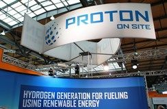 Proton OnSite - hydrogen generation for fueling using renewable energy.