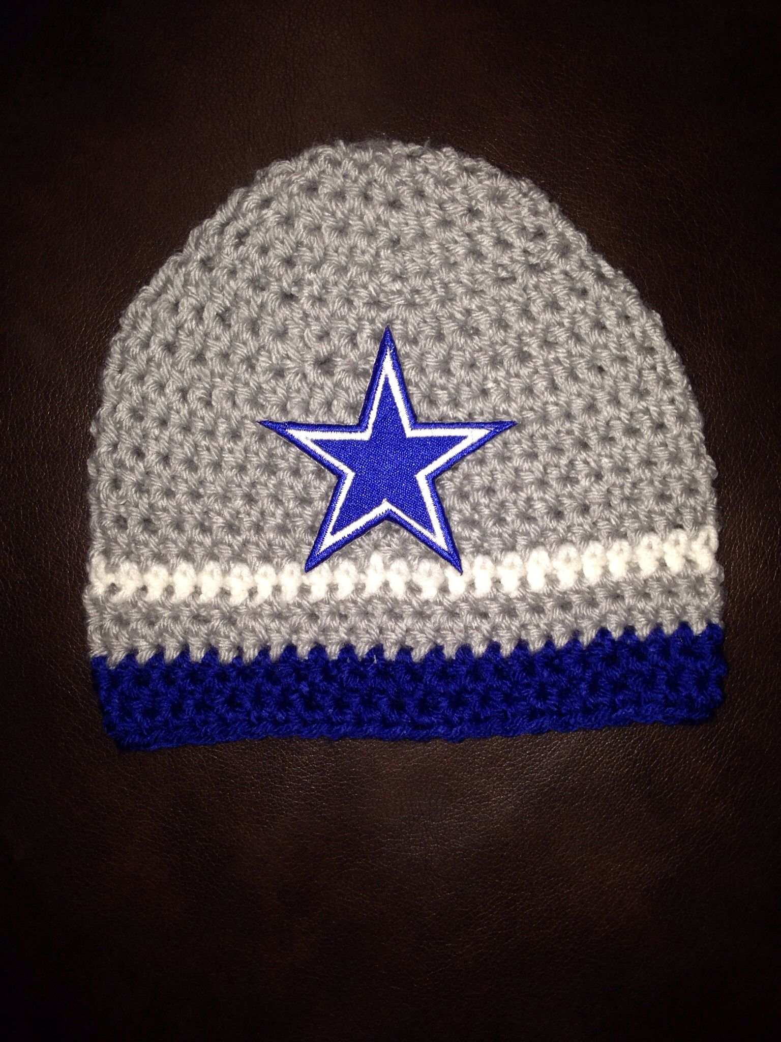 Dallas Cowboys beanie   Dallas cowboys, Knit crochet ...