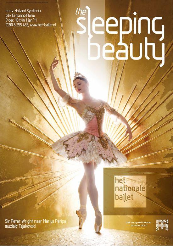 recent work: dutch national ballet posters by martin, via Behance