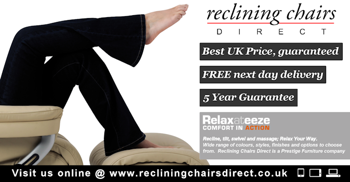 Introducing our new brand; www.recliningchairsdirect.co.uk]