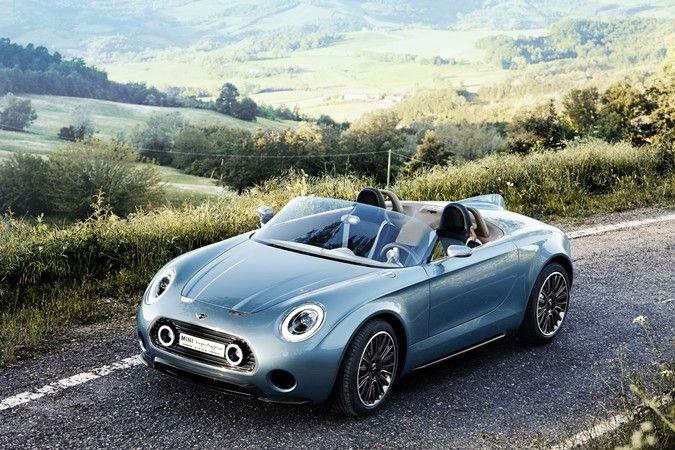 Mini presents Superleggera Vision electric roadster concept at Salon Privé - Images