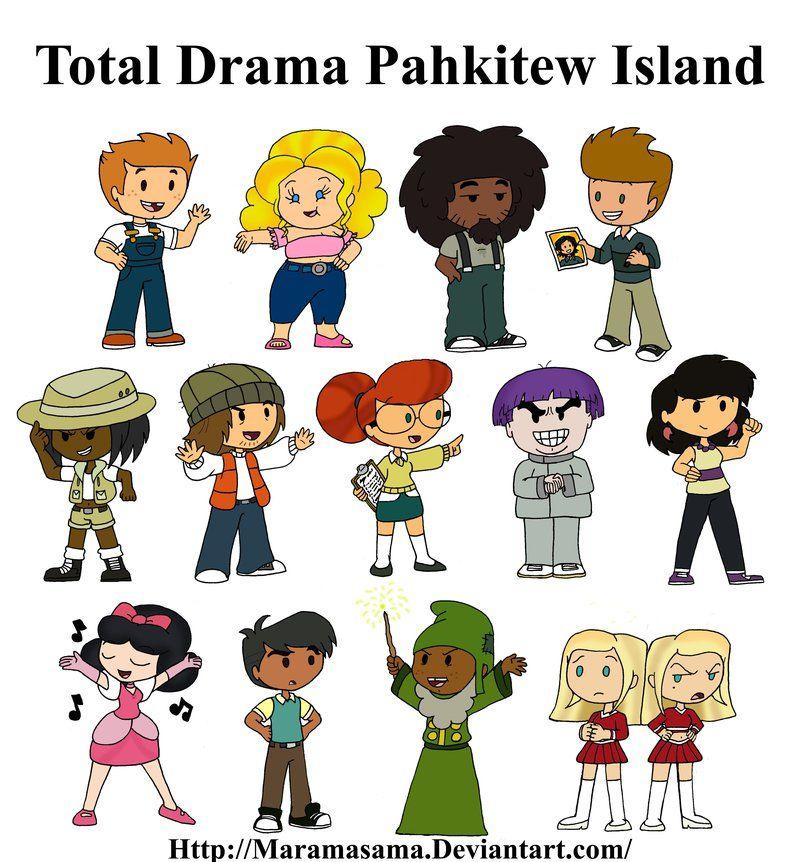 Total Drama Pahkitew Island Characters by Maramasama