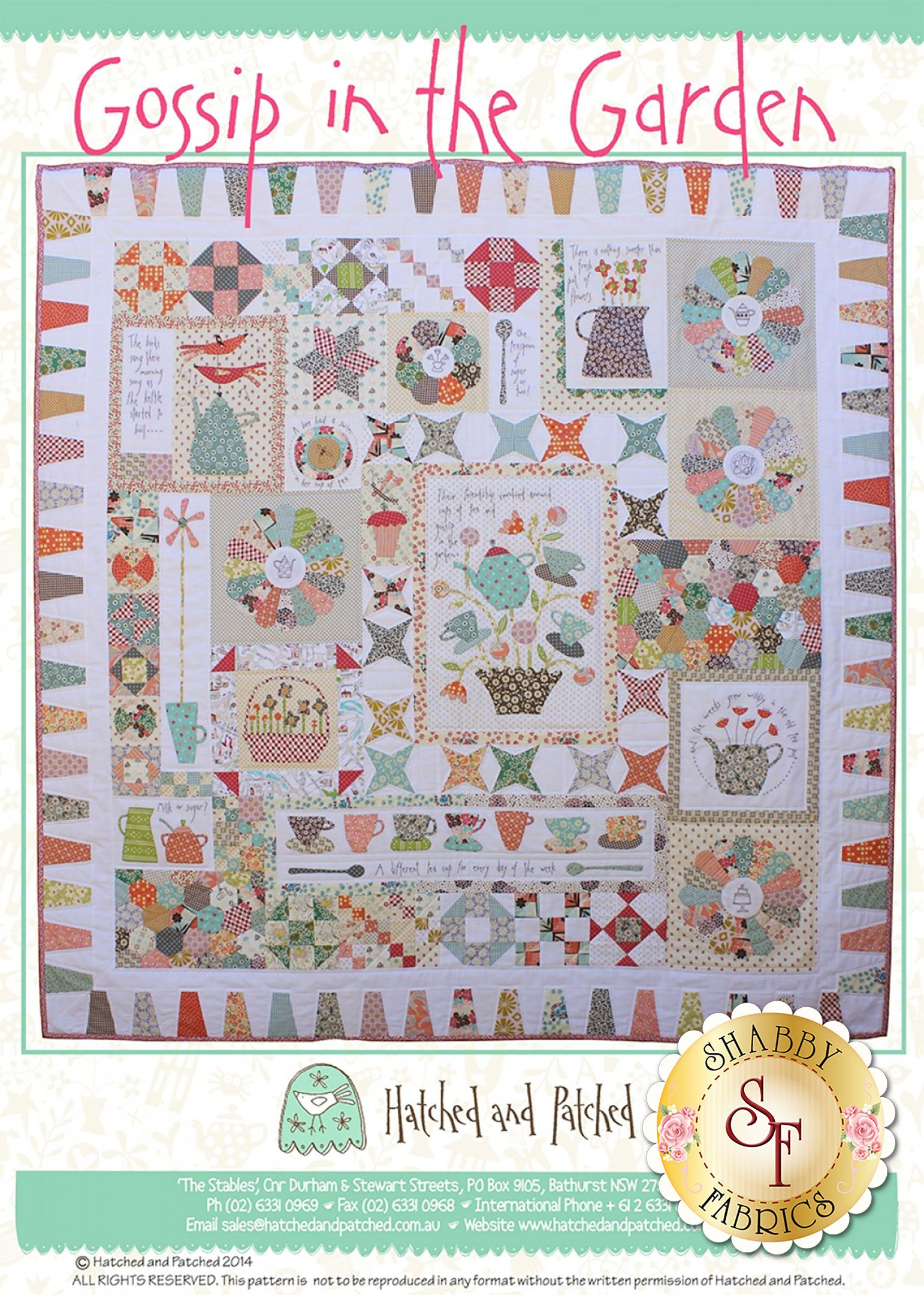 Plastic quilt templates T-Block Patches