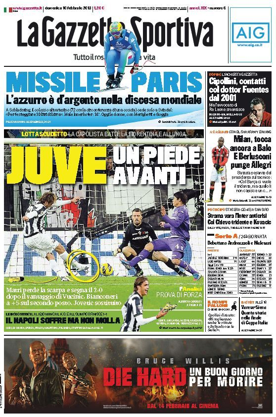 La Gazzetta dello Sport (100213) (With images) Book