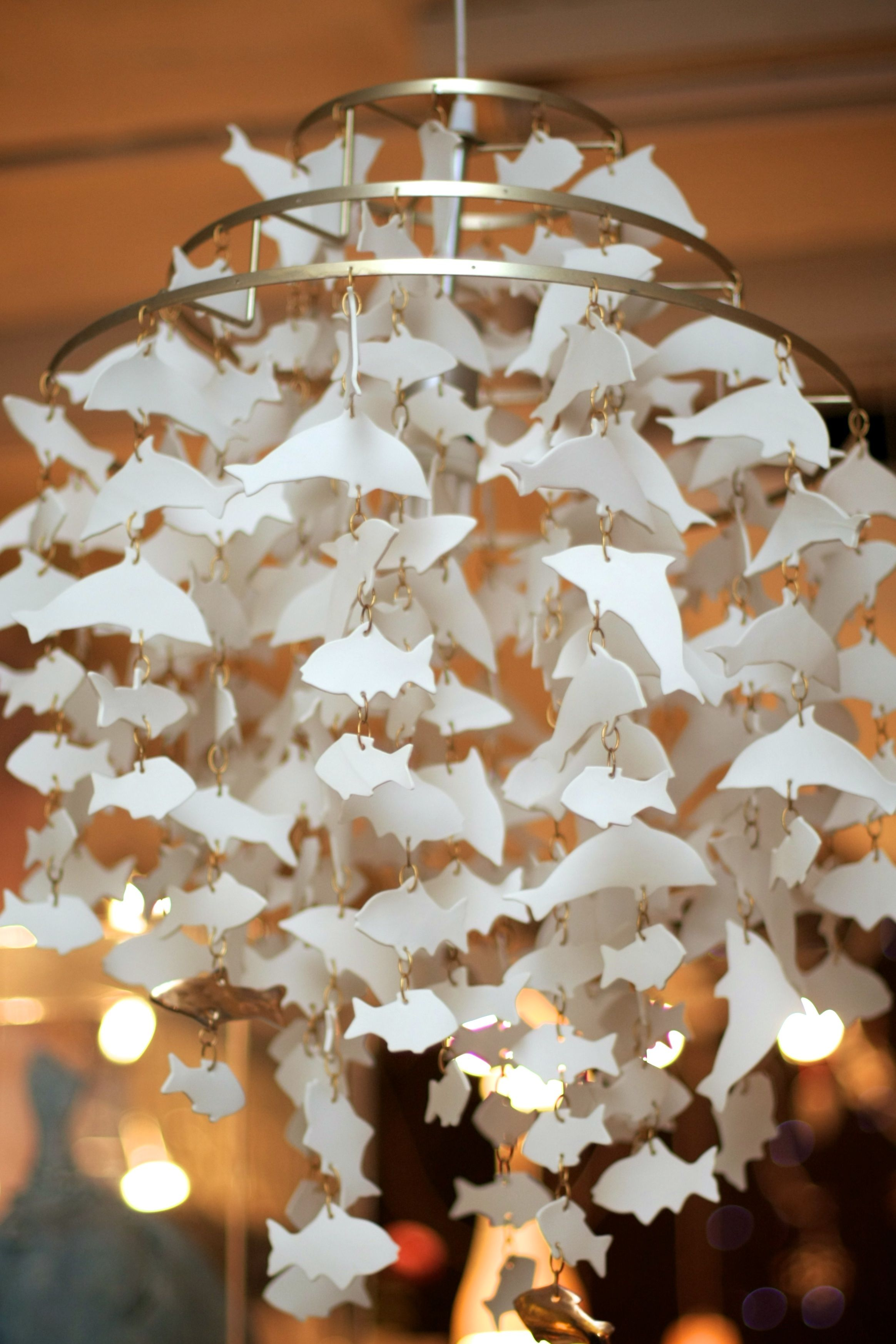 Hand made porcelain chandelier made to order from 750 info pottery arubaitofo Choice Image