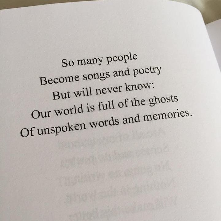 How To Cite A Quote So Many People Become Songs And Poetry But Will Never Know Our