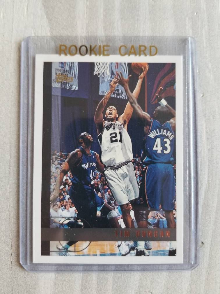 San Antonio Spurs Tim Duncan Rookie Card Topps Rookie