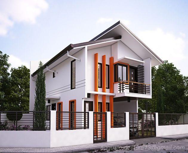 Modern zen house architecture