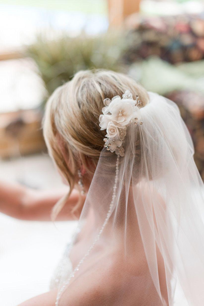 Frisur Hochzeit Schleier  Friseur