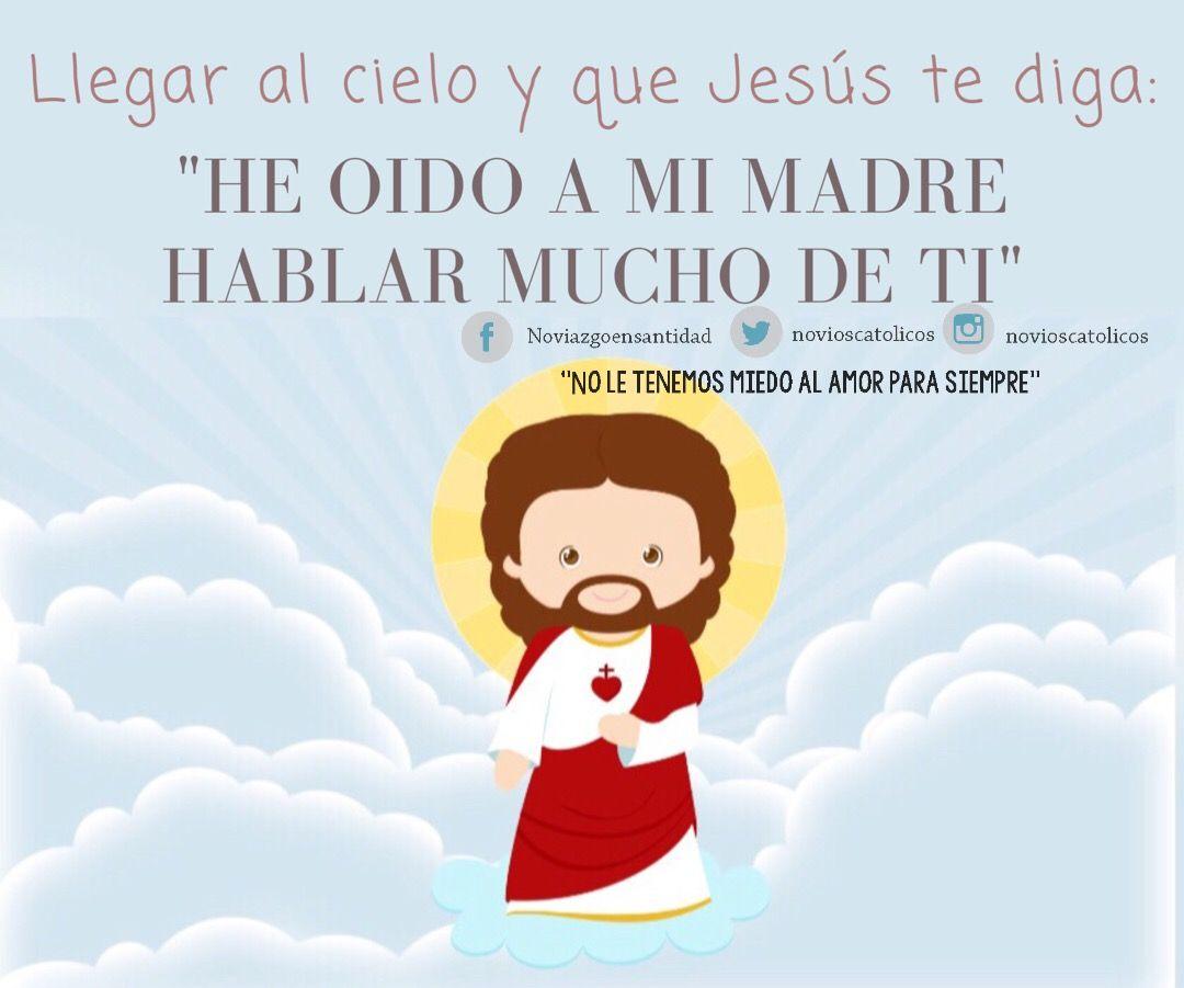 Fe En Dios El Amor De Dios Santidad Frases De Inspiraci³n Palabras Santsima Virgen Mara Frases Cristianas Virgencita Cristianos