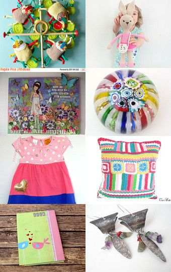 It's a colorful life :) by Rossi on Etsy--Pinned with TreasuryPin.com