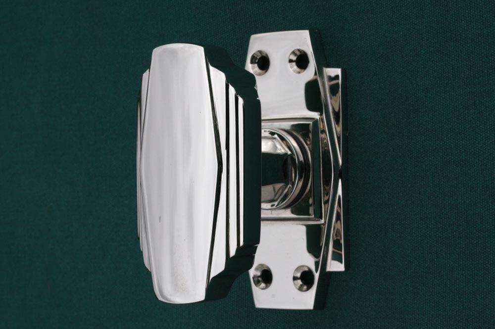 Art Deco Door Knobs made in England. Cast from original moulds. http ...