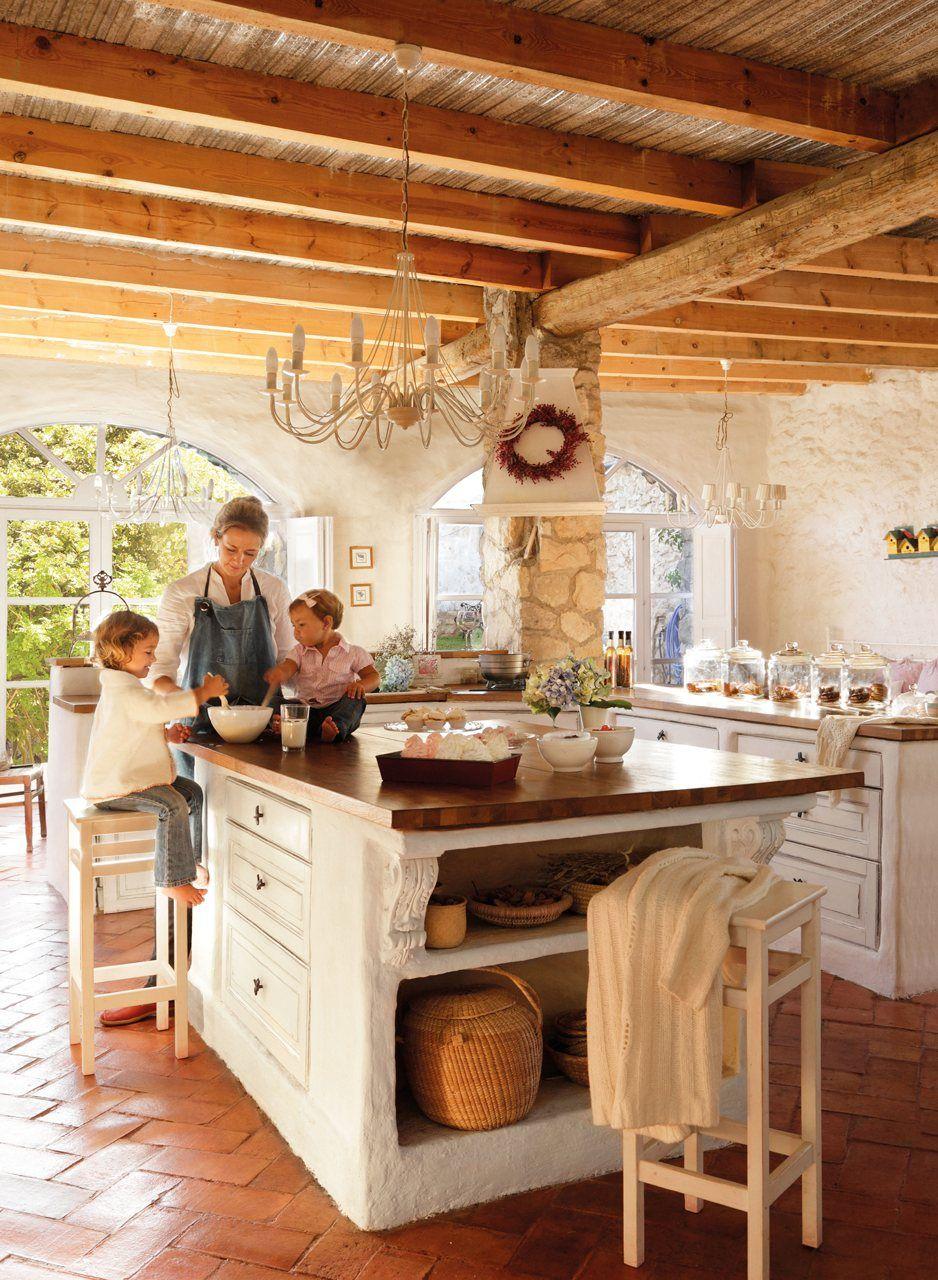 La Casa En La Que Los Nomadas Echaron Raices Cocinas