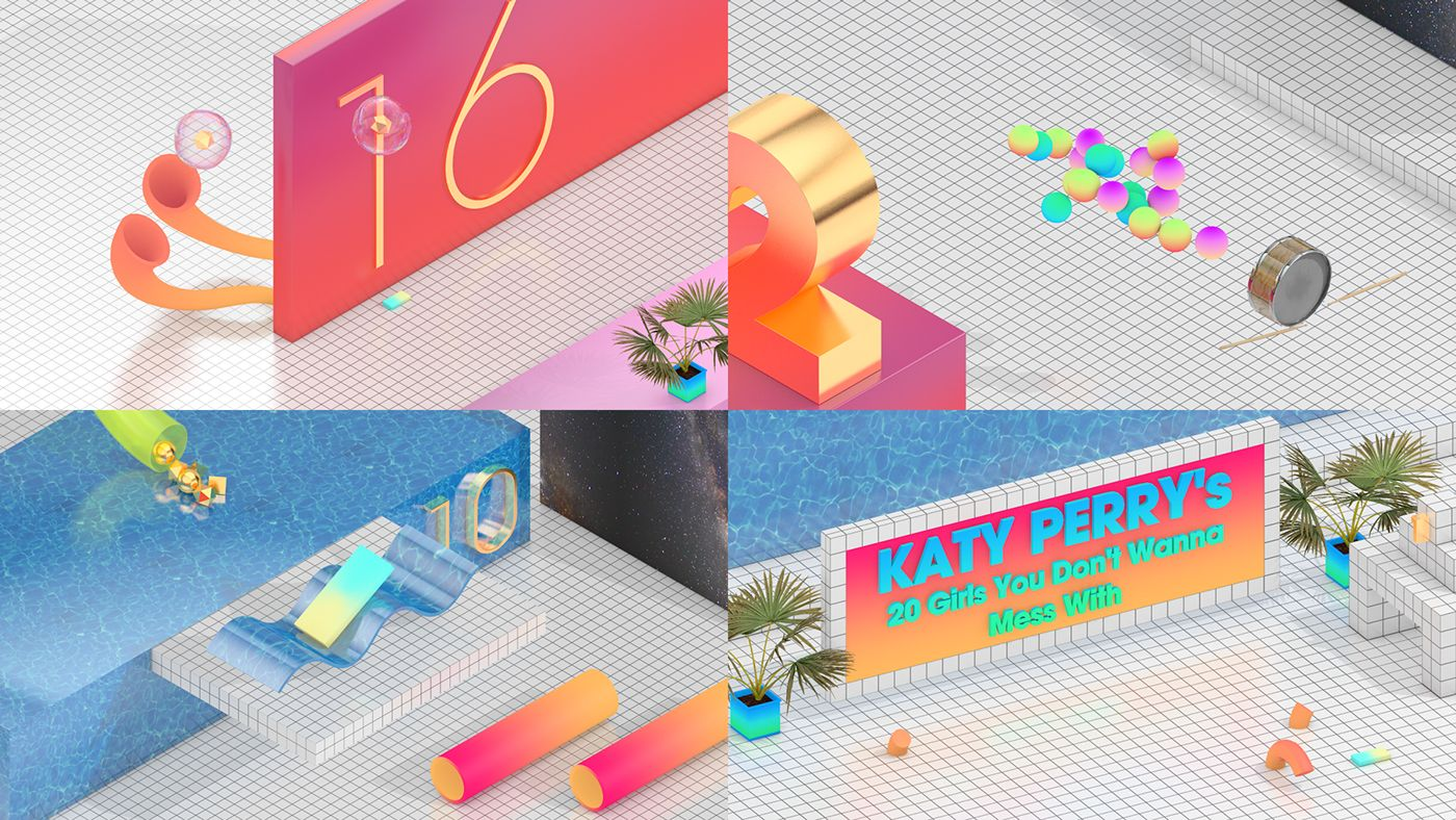 I designed and animated these ideas for the Ultimate Night Day Chart Show  for the Box+ Network (4Music 98d016d5185