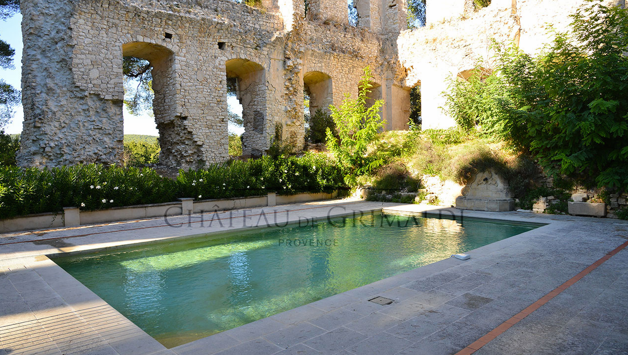 Image Result For Pools In Provence Pool Provence Chateau