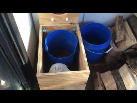 DIY cheap composting toilet - YouTube | camper redo | Pinterest ...