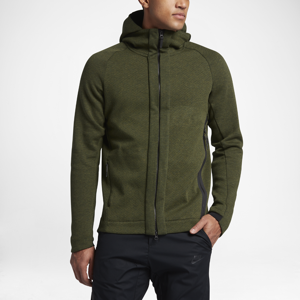 Nike Sportswear Tech Fleece Men s Full-Zip Hoodie Size Medium (Olive) -  Clearance Sale 026125cb8
