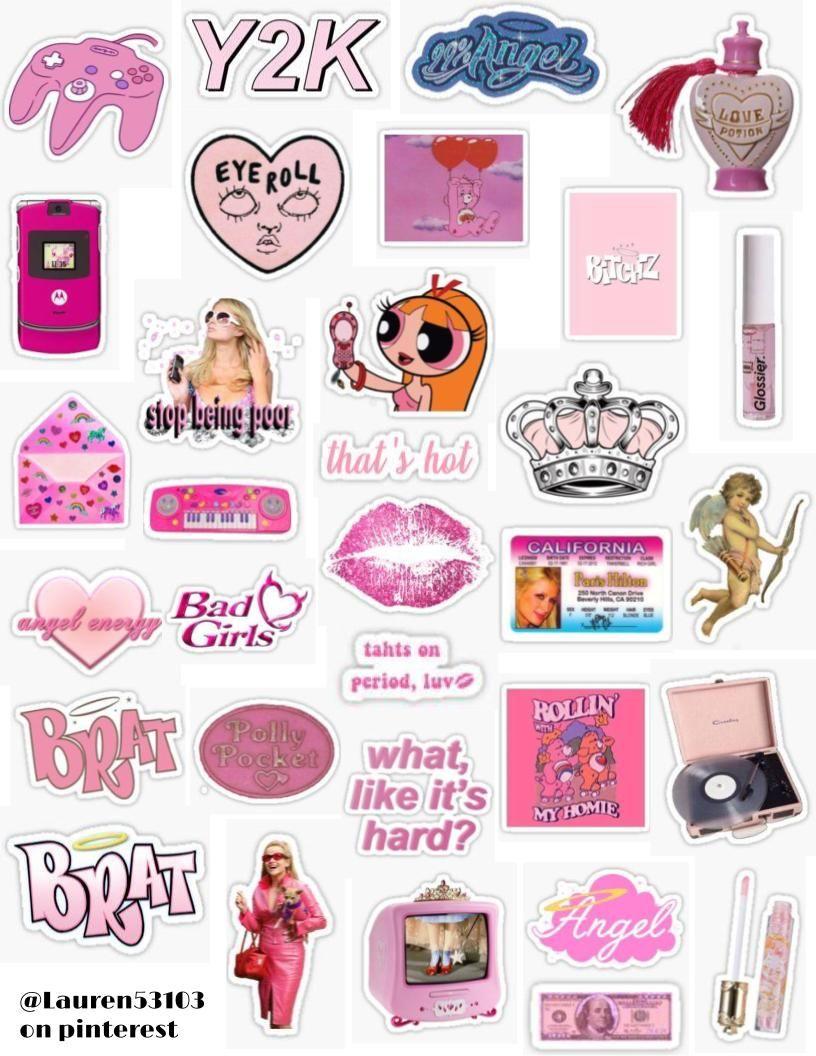 Stickers Sticker Pack Retro Vintage Sticker Pack Overlays Edits
