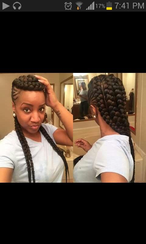 Cardi B Braids Hairstyles Pinterest Hair Styles Braids And
