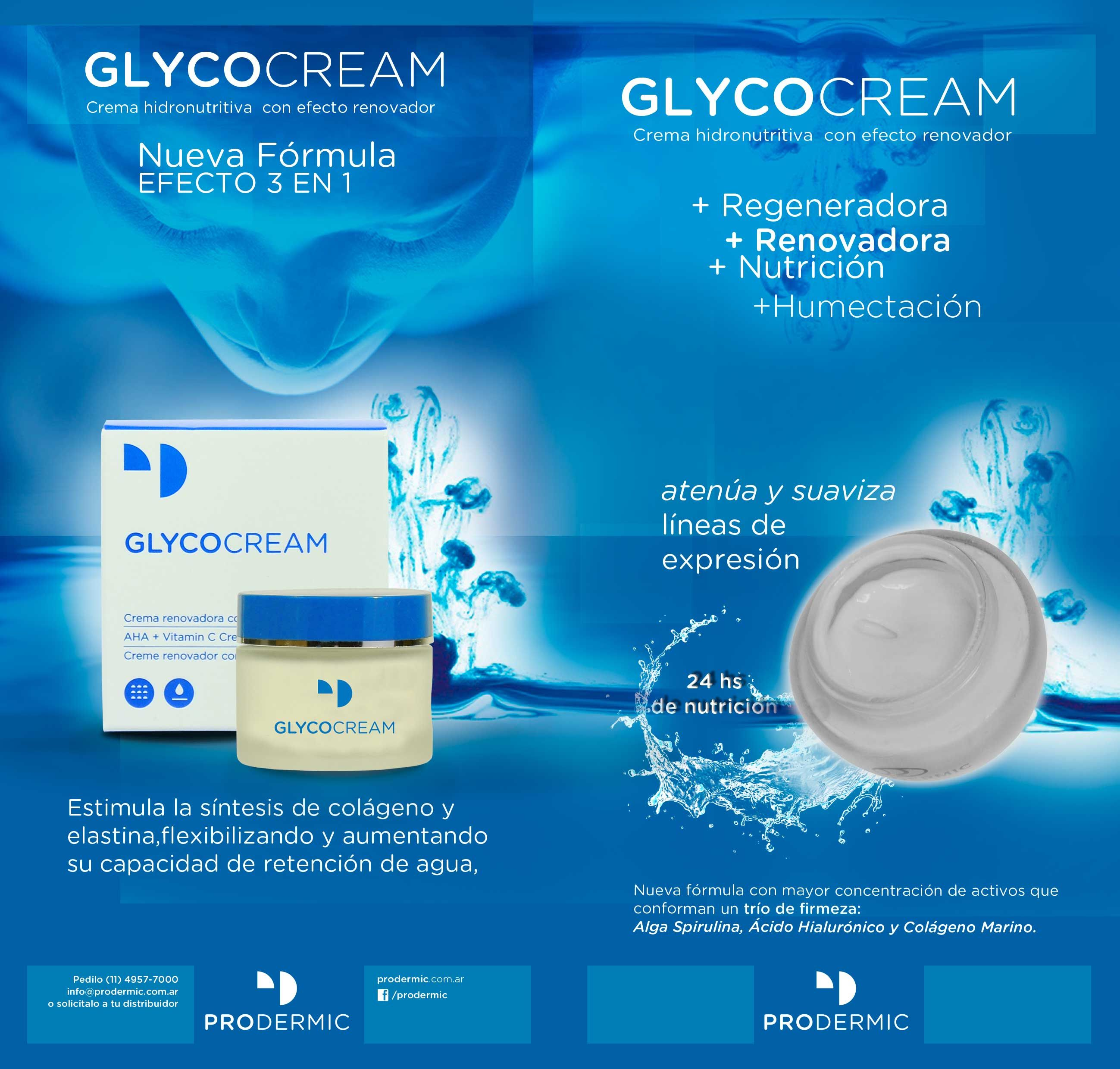 GlycoCream ProDermic - fórmula renovada