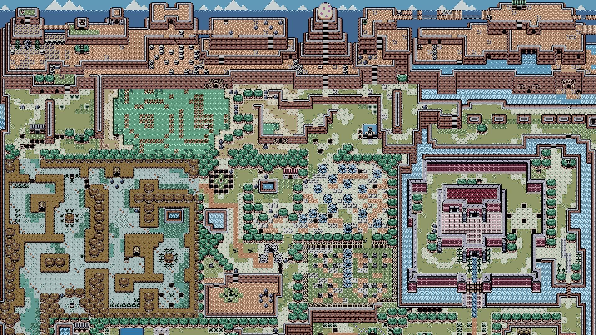 Hd Wallpaper The Legend Of Zelda Links Awakening Scream
