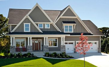 2014 Spring Parade Of Homes Traditional Exterior Minneapolis Hart S Design Dovetail House Exterior Exterior House Colors