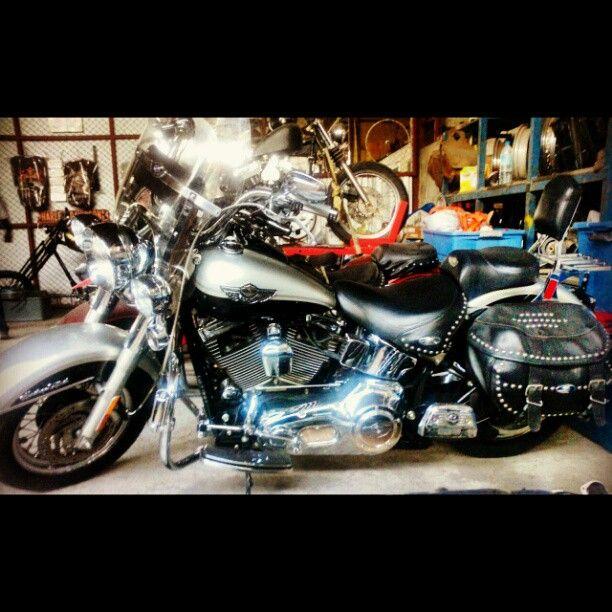 """""""fatboy100years sterling silver & vivid black #harley #harleydavidson #motorcycle #bike"""""""