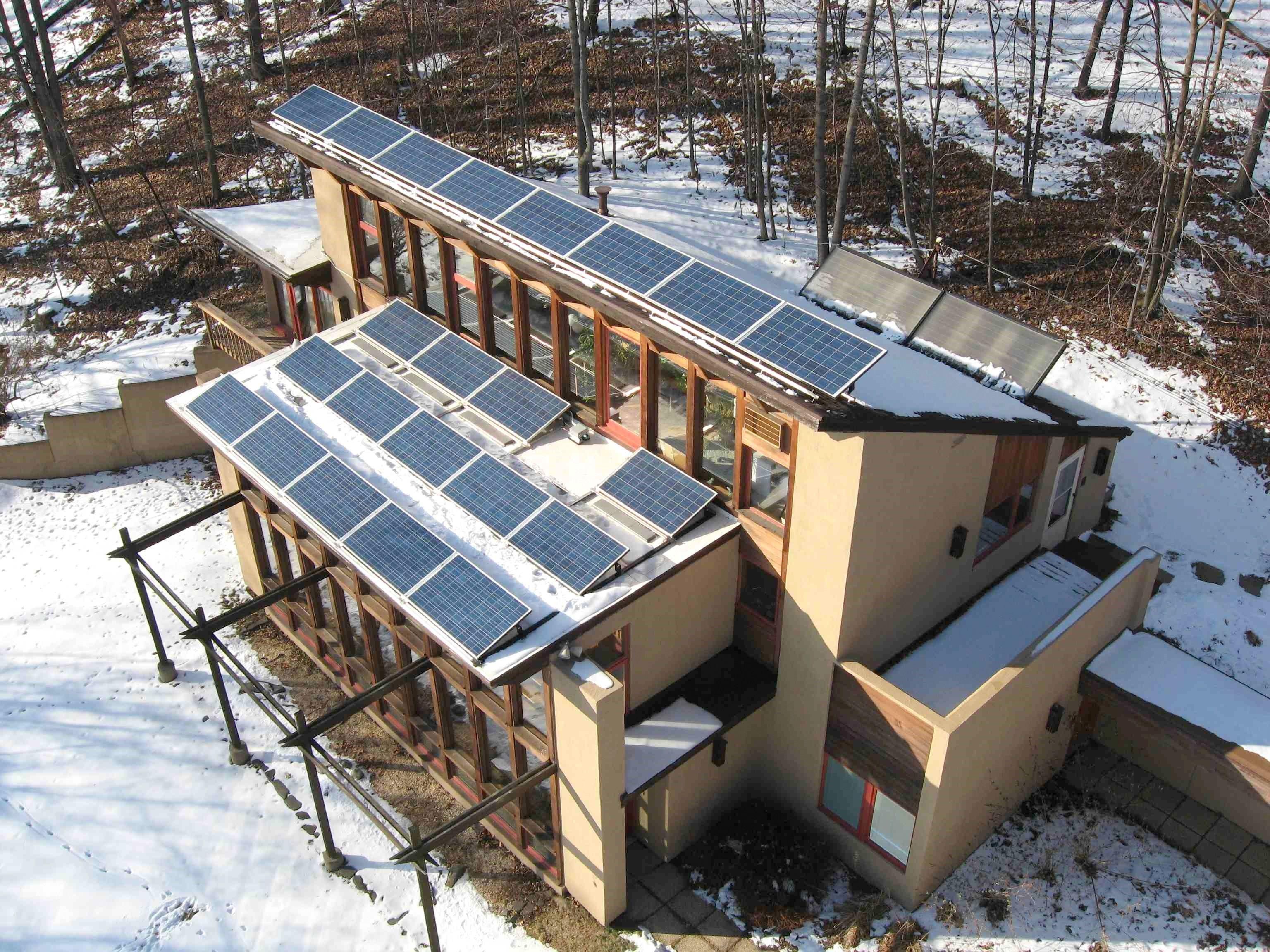 Passive Solar Home | EnergySage | houses | Pinterest | Passive ...