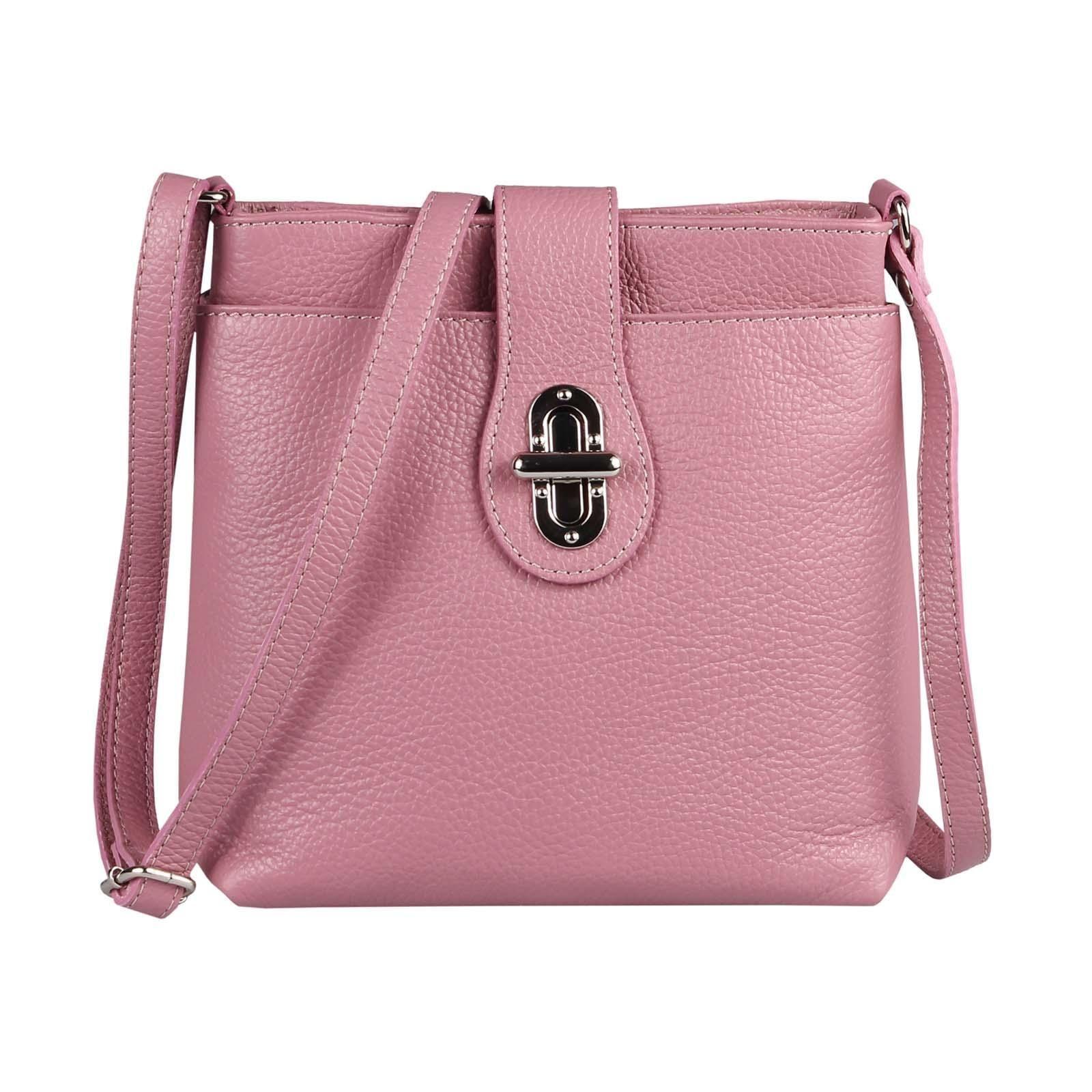 Schultertasche Umhngetasche Ledertasche Handtasche Crossover Altrosa Tasche Damen Leder City Tal Bagtal Damen Leder Tasche S Shoulder Bag Bags Leather Bag