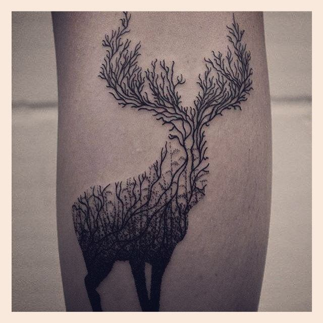 hirsch tattoo bedeutung  lilie tattoos und ihre